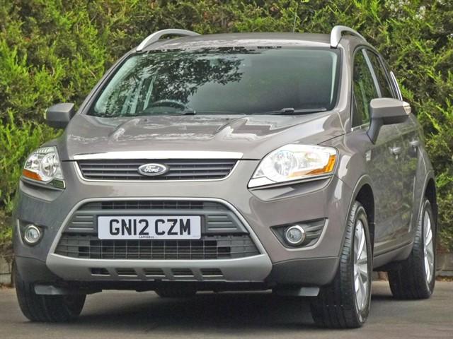 used Ford Kuga 2.0 TDCi 140 TITANIUM in dorset