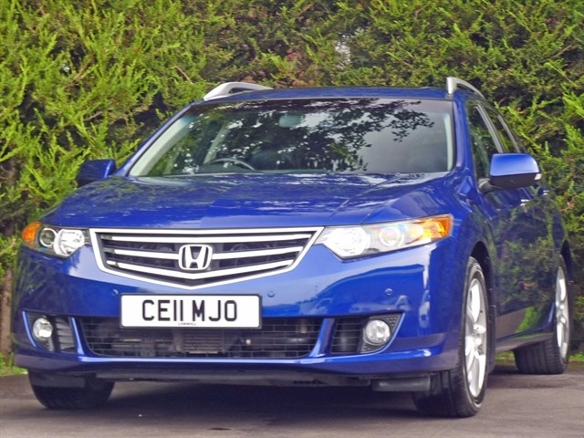 used Honda Accord 2.2 I-DTEC EX AUTOMATIC ESTATE in dorset