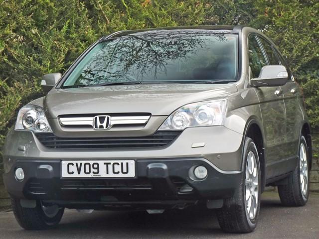 used Honda CR-V 2.2 I-CTDI EX in dorset