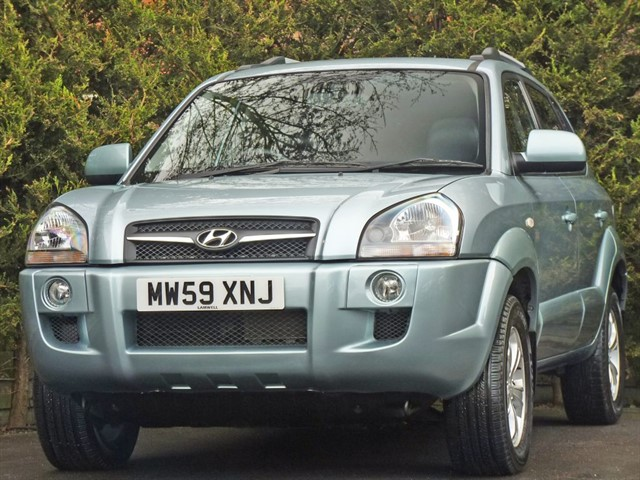 used Hyundai Tucson PREMIUM 2.0 CRDI AUTOMATIC in dorset
