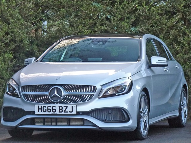 used Mercedes A200 AMG LINE PREMIUM PLUS in dorset