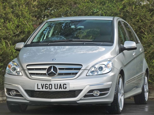 used Mercedes B180 CDI 2.0 SPORT CDi AUTOMATIC in dorset