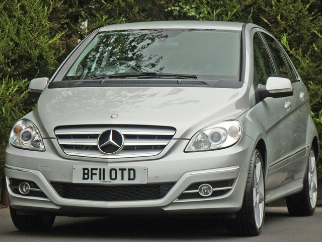 used Mercedes B180 CDI 2.0 SPORT AUTOMATIC in dorset