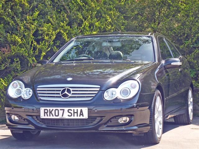 used Mercedes C180 KOMPRESSOR SE SPORTS COUPE AUTOMATIC in dorset