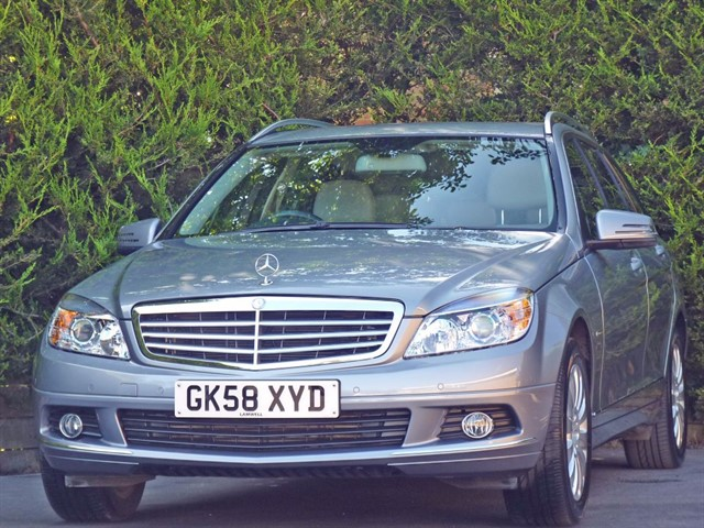 used Mercedes C180 KOMPRESSOR ELEGANCE ESTATE in dorset