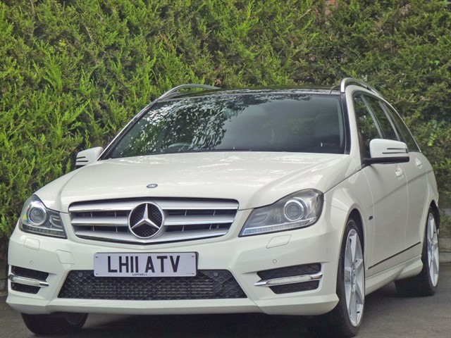 used Mercedes C220 CDI BLUEEFFICIENCY SPORT AUTOMATIC in dorset