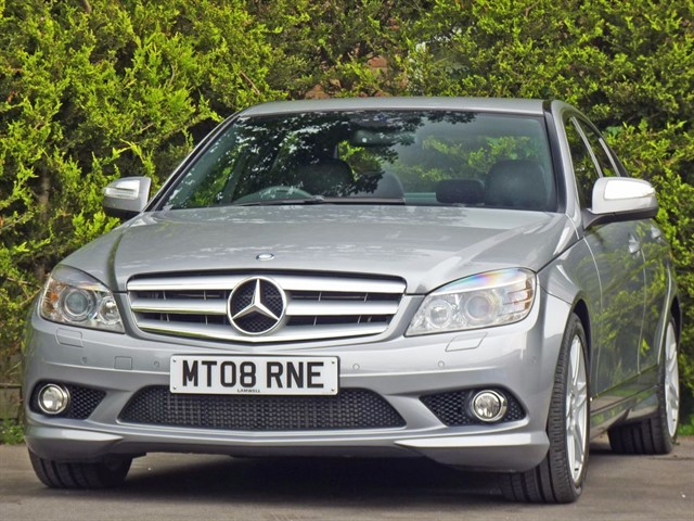 used Mercedes C220 2.1 CDI SPORT AUTOMATIC in dorset