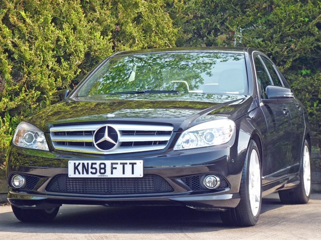 used Mercedes C220 220 CDI SPORT AUTOMATIC in dorset