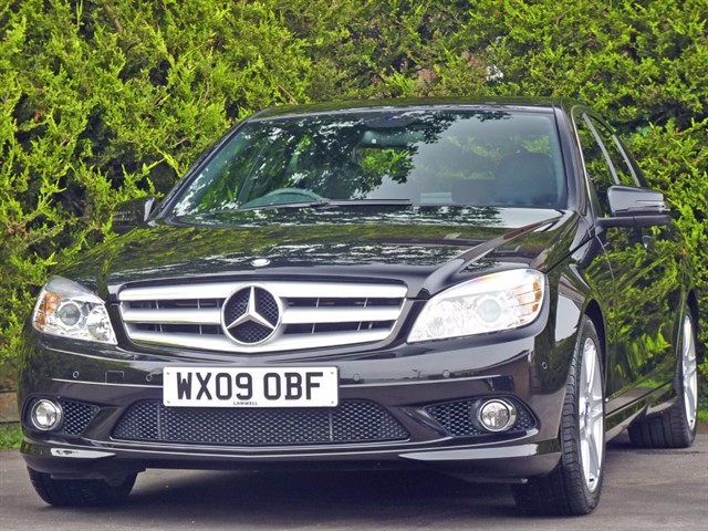 used Mercedes C280 SPORT AUTOMATIC in dorset
