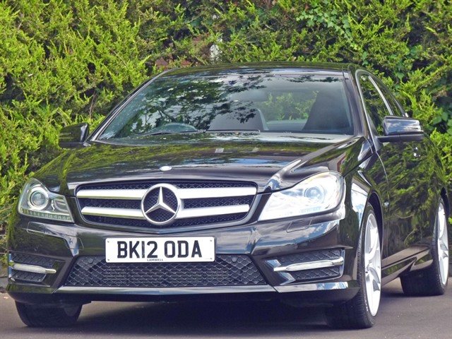 used Mercedes C180 BLUEEFFICIENCY AMG SPORT AUTO COUPE in dorset