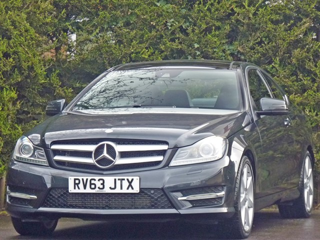 used Mercedes C180 AMG SPORT COUPE AUTOMATIC in dorset