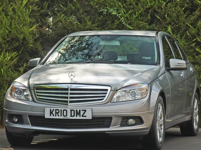 used Mercedes C180 CGI BLUEEFFICIENCY SE AUTOMATIC in dorset
