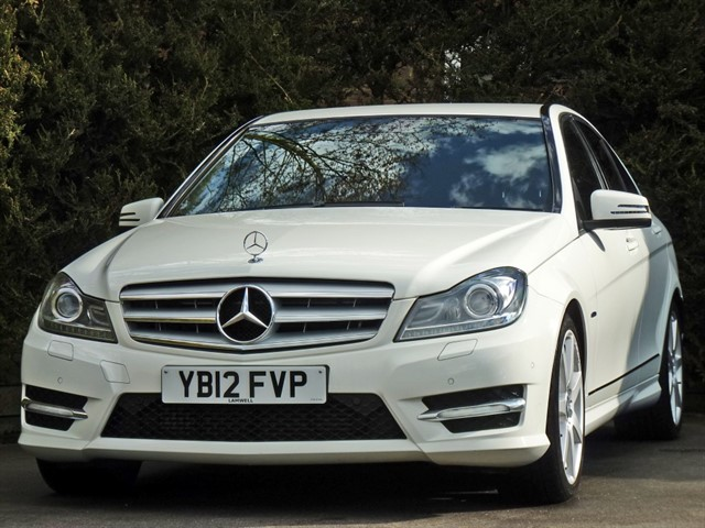 used Mercedes C180 BLUEEFFICIENCY SPORT AUTOMATIC in dorset