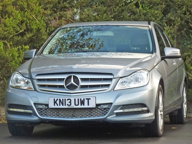 used Mercedes C220 2.1 CDI EXECUTIVE SE AUTOMATIC in dorset