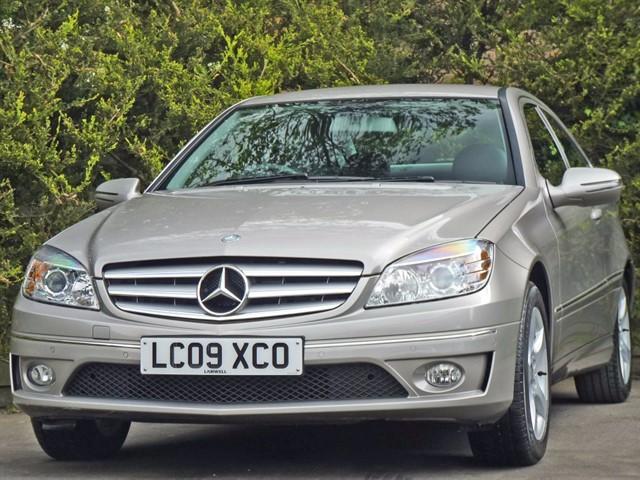 used Mercedes CLC180 KOMPRESSOR SE SPORTS COUPE AUTOMATIC in dorset