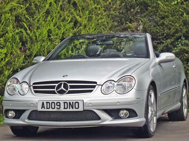 used Mercedes CLK200 KOMPRESSOR SPORT AUTOMATIC in dorset