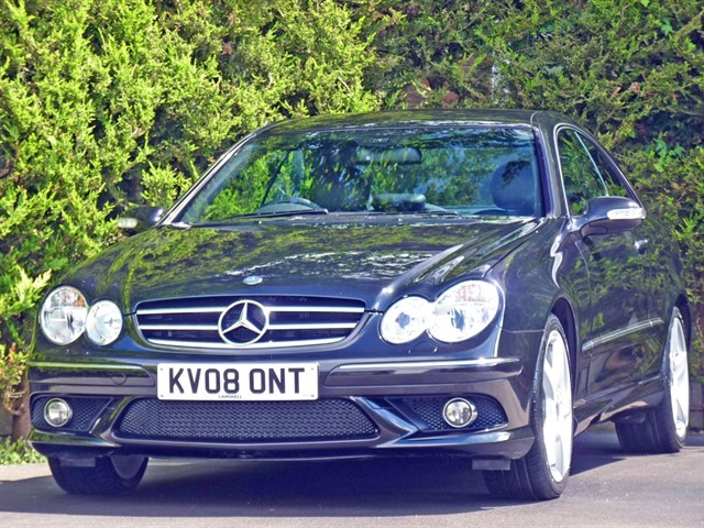 used Mercedes CLK320 CDI 3.0 CDI SPORT AUTOMATIC in dorset
