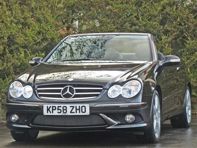 used Mercedes CLK200 SPORT AUTO CONVERTIBLE in dorset