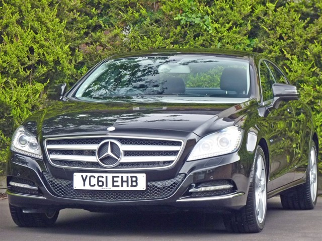 used Mercedes CLS350 CDI 3.0 V6 BLUEEFFICIENCY AUTOMATIC in dorset