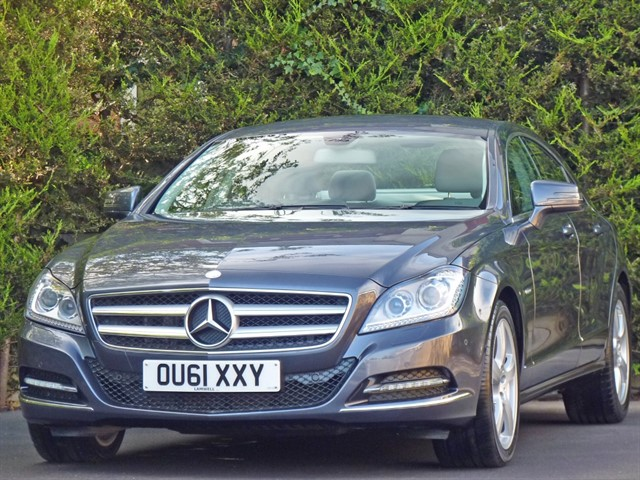 used Mercedes CLS350 CDI BLUEEFFICIENCY AUTOMATIC in dorset