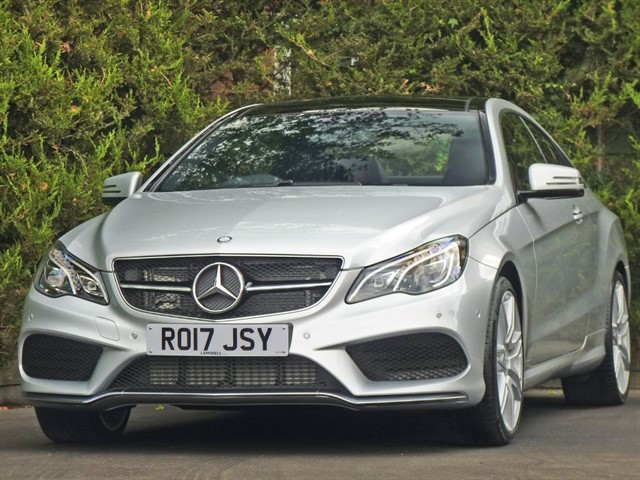 used Mercedes E220 AMG LINE EDITION PREMIUM in dorset