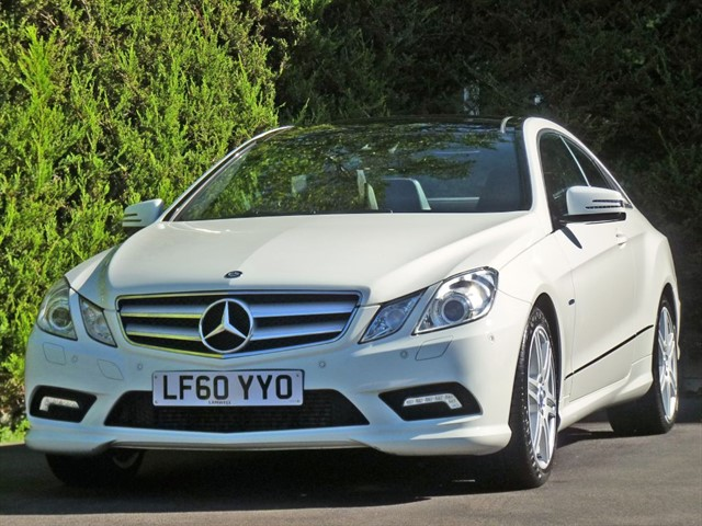 used Mercedes E220 2.1 CDI BLUEEFFICIENCY SPORT AUTOMATIC in dorset