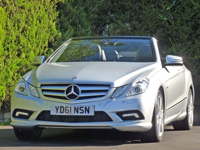 used Mercedes E250 CGI BLUEEFFICIENCY SPORT CONVERTIBLE in dorset