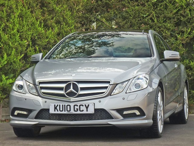 used Mercedes E250 CGI  SPORT AUTOMATIC COUPE in dorset