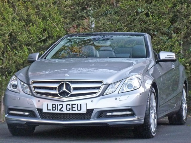 used Mercedes E350 3.0 CDI BLUEEFFICIENCY SE CONVERTIBLE in dorset