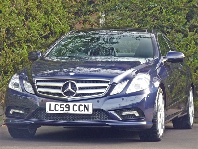used Mercedes E350 CDI BLUEEFFICIENCY SPORT AUTOMATIC COUPE in dorset