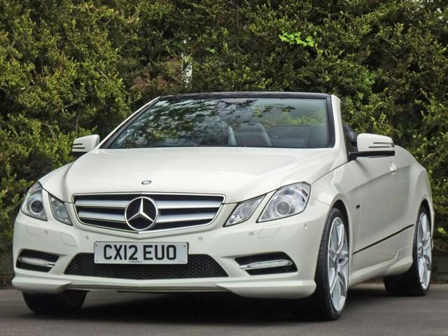 used Mercedes E200 CGI BLUEEFFICIENCY SPORT AUTO CONVERTIBLE in dorset