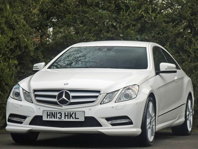 used Mercedes E200 CGI BLUEEFFICIENCY SPORT AUTOMATIC in dorset