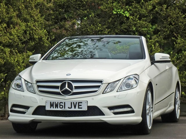 used Mercedes E220 CDI BLUEEFFICIENCY SPORT in dorset