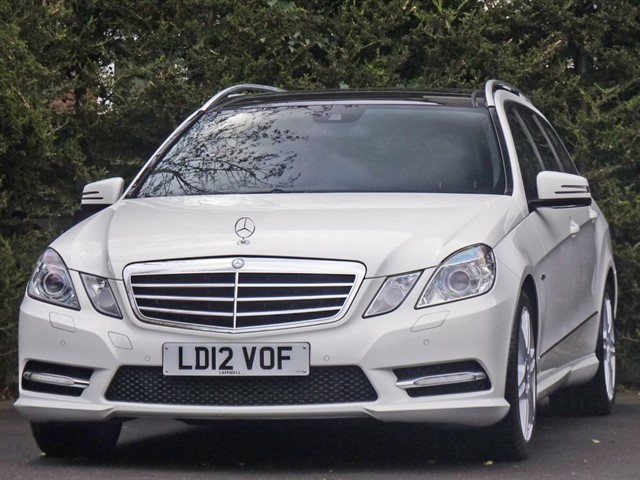 used Mercedes E220 CDI BLUEEFFICIENCY SPORT EDITION 125 ESTATE in dorset