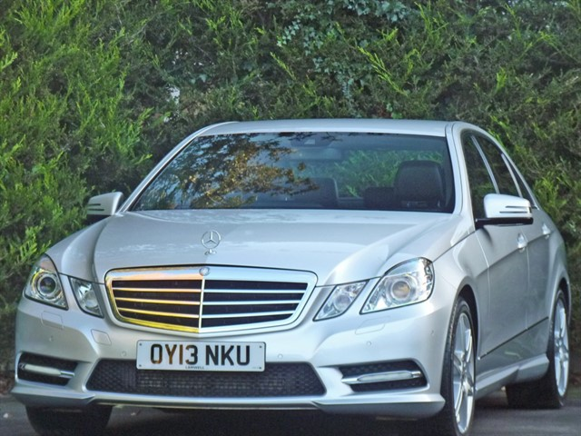 used Mercedes E220 CDI BLUEEFFICIENCY SPORT AUTOMATIC in dorset