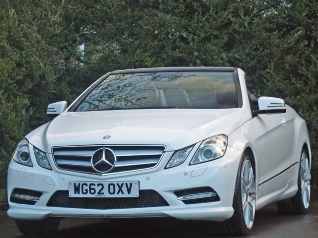 used Mercedes E250 CDI BLUEEFFICIENCY SPORT AUTO CONVERTIBLE in dorset