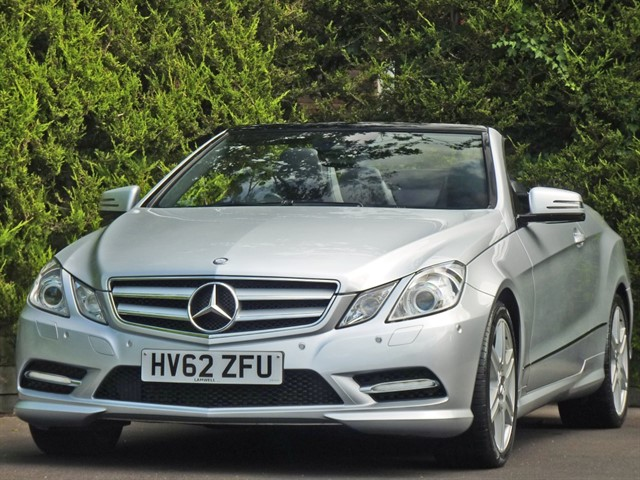 used Mercedes E250 CDI BLUEEFFICIENCY SPORT CONVERTIBLE in dorset
