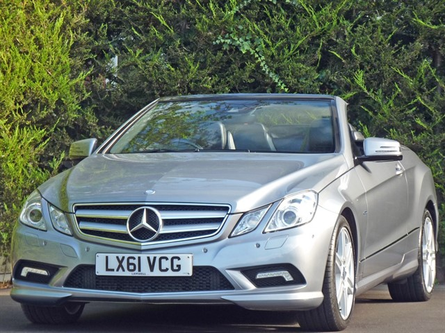 used Mercedes E350 CDI BLUEEFFICIENCY SPORT EDITION 125 AUTOMATIC in dorset