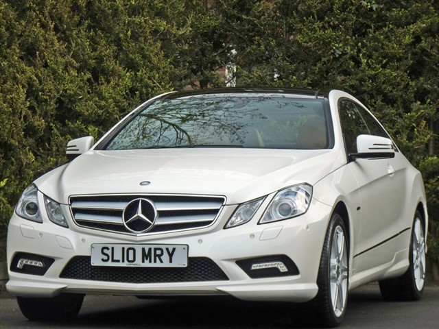 used Mercedes E350 3.0 V6 CDI BLUEEFFICIENCY SPORT COUPE AUTO in dorset
