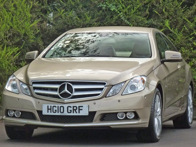 used Mercedes E350 CDI BLUEEFFICIENCY SE in dorset