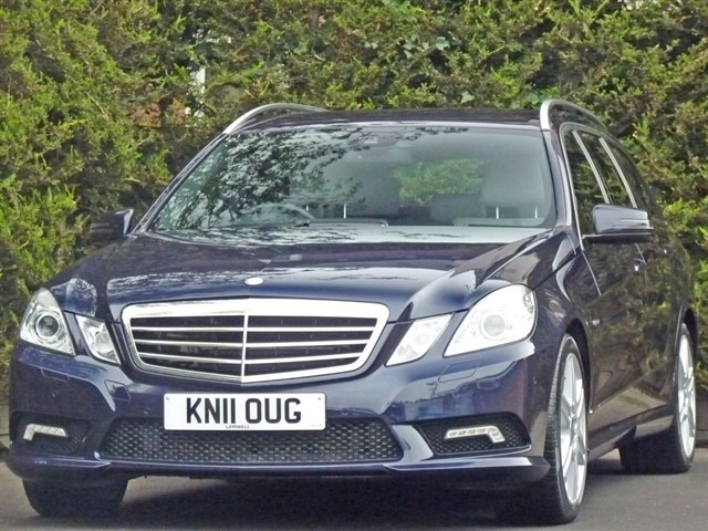 used Mercedes E350 CDI BLUEEFFICIENCY SPORT 7 SEATER in dorset
