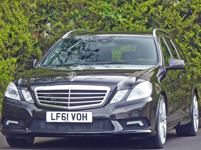 used Mercedes E350 SPORT EDITION 125 3.0 CDi AUTOMATIC in dorset
