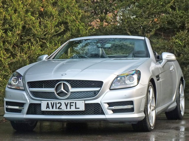 used Mercedes SLK250 2.1 CDI AMG SPORT AUTOMATIC in dorset