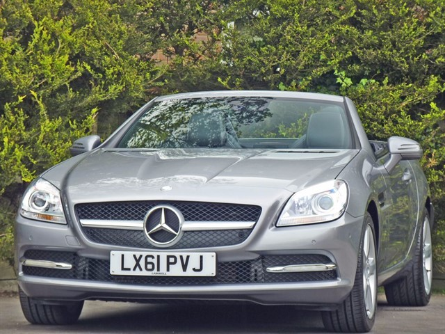 used Mercedes SLK 200 BLUEEFFICIENCY EDITION 125 in dorset