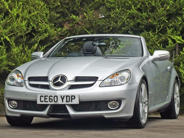used Mercedes SLK 200 KOMPRESSOR AUTOMATIC in dorset