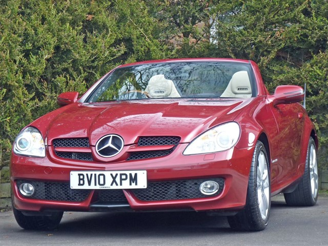 used Mercedes SLK SLK200 KOMPRESSOR in dorset