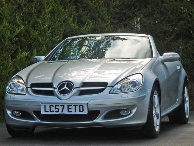 used Mercedes SLK KOMPRESSOR AUTOMATIC in dorset