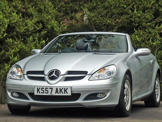 used Mercedes SLK200 KOMPRESSOR AUTOMATIC in dorset