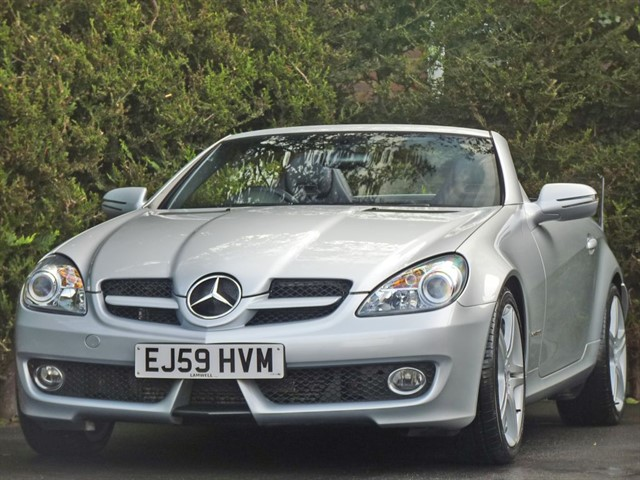 used Mercedes SLK200 KOMPRESSOR AUTOMATIC in dorset
