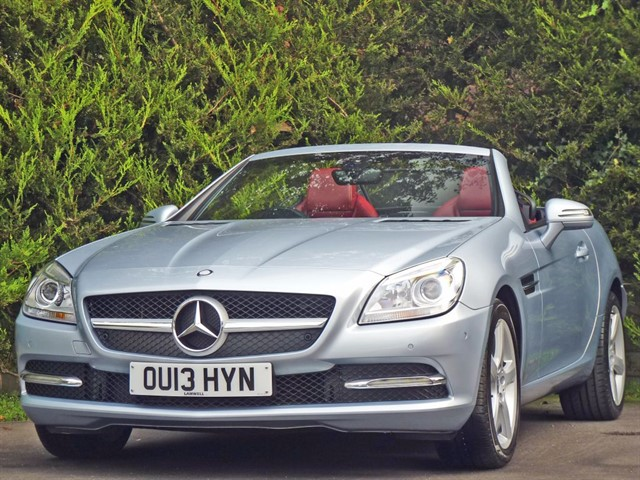 used Mercedes SLK250 2.1 CDI BLUEEFFICIENCY AUTOMATIC in dorset